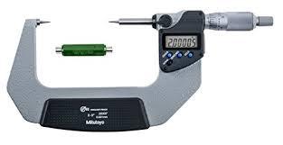 ASDQMS Mitutoyo 342-353-30 IP65 Point Micrometer