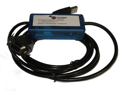 ASDQMS SmartCable with Keyboard Output for Adam Equipment Highland Series