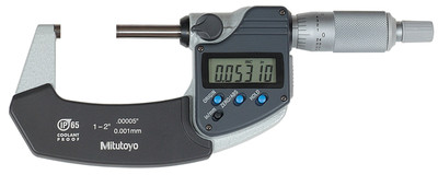ASDQMS Mitutoyo 293-331-30 Coolant Proof IP65 Micrometer with Ratchet Stop