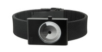 itoc blackout handless watch - black case and black strap