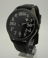 MATH IQ single hand watch