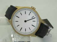 Bauhaus Gold - single hand watch