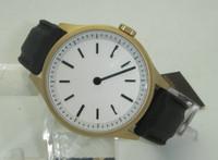 Bauhaus Gold - single hand watch