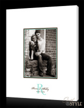 Wedding guest book canvas