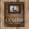 Personalized Picture Frame, Brown