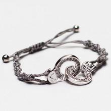 Cuffs of Love ♥ Handcuff Bracelet Large CZ