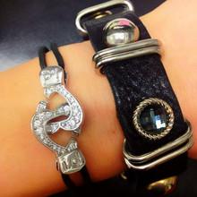 Cuffs of Love ♥ Heartcuff Bracelet Medium CZ