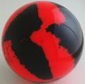 Martel DEA3 - Red | Black - Set of four.
