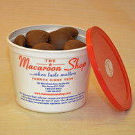 Gourmet Chocolate-covered Almond Macaroons 1 lb Tub
