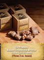 Sir Francis Bacon Chocolate Peanut Brittle 3 3oz Boxes