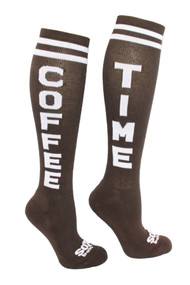 The Sox Box Coffee Time - Brown/White