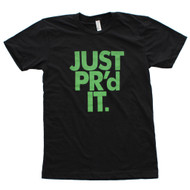 AnFarm Apparel + WODshop | Men's Just PR'd It T-Shirt, Black