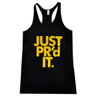 AnFarm Apparel | Women's JUST PR'd IT Tank, Black