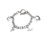Unbroken Designs | Gym Life Charm Bracelet - Main