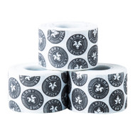 Goat Tape | Scary Sticky - White & Black (Multiple Rolls)