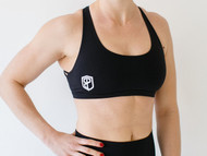 Born Primitive | Vitality Sports Bra - Black Front