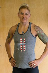 For Him Gear | Flag Women's Tank - Grey