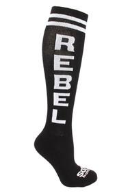 The Sox Box | Rebel Socks - Black/White