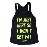 AnFarm Apparel | Just Here Tank - Black