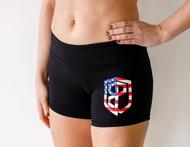Born Primitive | Renewed Vigor Booty Shorts Black - USA