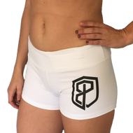 Born Primitive | Renewed Vigor Booty Shorts - White