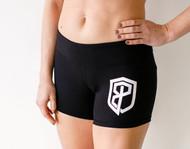Born Primitive | Renewed Vigor Booty Shorts - Black