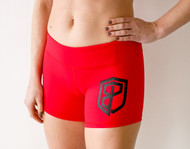 Born Primitive | Renewed Vigor Booty Shorts - Red