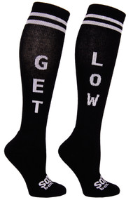 The Sox Box | Get Low Socks - Black/White