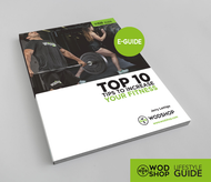 Downloadable guide the the Top 10 Tips to Increase Your Fitness.