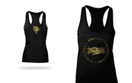 DogTown CrossFit | 2016 Logo Circle Tank - Limited Edition Black/Gold Foil