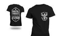 Orange Coast CrossFit OCCF | Brutal Workouts Eagle Logo Tee - Black