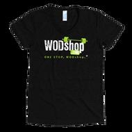 WODshop | Women's One Stop Logo Track T Shirt