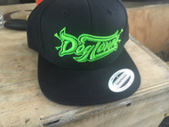 DogTown CrossFit | DogTown Logo Snapback Hat - Black/Green