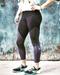 WOD Gear Black/Grey Women's Crop Pants