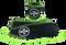 WODshop Wrist Wraps - Black/Green