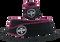 WODshop Wrist Wraps - Black/Pink