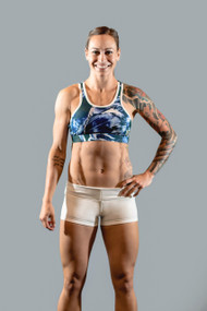 Vull Sport | Renegade Sports Bra - Marbled Blue