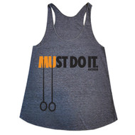AnFarm Apparel | Women's Must Do It Athletic Grey Front