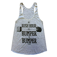 AnFarm Apparel | Women's Rush Hour - Athletic Grey - Front