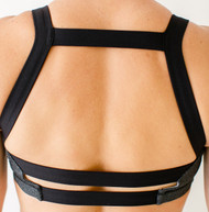 Born Primitive | Moxie Sports Bra (Steel Smoke)
