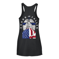 Born Primitive | Honor the Fallen Tank Top (Thin Blue Line Edition)