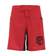 American Defender Shorts 2.0 - Red - Front
