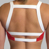 Born Primitive | Moxie Sports Bra (Scarlet)