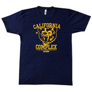 AnFarm Apparel | California Complex Mens Tee - Tri-Indigo - FRONT