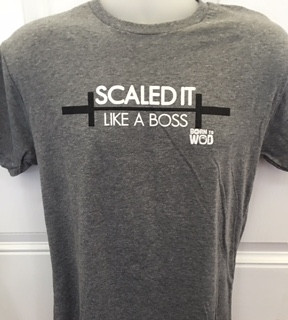 "Born to WOD | ""Scaled It Like A Boss"" Men's T-Shirt"