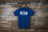 "Nefrin Apparel | Men's ""City Series LA"" Tee - Blue/White"