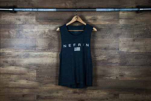 "Nefrin Apparel | Women's ""Patriot"" Muscle Tank"