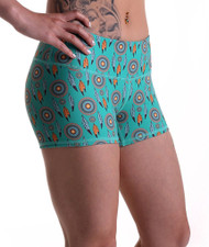 Functional Apparel Booty Shorts - Dream Catcher Shorts Side
