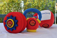WOD Toys | Complete Baby WOD - Plush Rattle Set