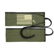"Strength Wraps | Wrist Support Wraps - ""Army Green"" Olive Drab"
